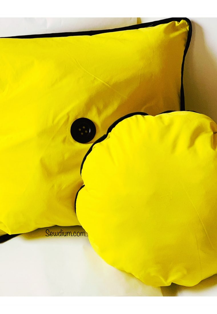 Bright Yellow Pillows